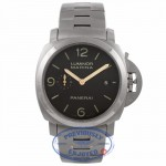 Panerai Luminor Marina 1950 44MM Titanium Brown Dial PAM00352 WT5JMR - Beverly Hills Watch Company Watch Store