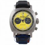 Panerai Ferrari Granturismo Chronograph Edition 45MM Yellow Dial FER00011 DVL4YQ - Beverly Hills Watch Company Watch Store