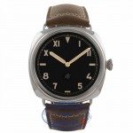 Panerai PAM00424 Radiomir 47mm Stainless Steel Case California Dial Manual Wind 3 Day Power Reserve Watch PAM00424 8E6X3K - Beverly Hills Watch Company Watch Store