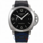 Panerai Luminor 1950 3 Day Power Reserve GMT Stainless Steel PAM00320 28AZ30 - Beverly Hills Watch CompanyPanerai Luminor 1950 3 Day Power Reserve GMT Stainless Steel PAM00320 28AZ30 - Beverly Hills Watch Company Watch Store