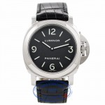 Panerai Luminor 44MM Manual Wind Stainless Steel Black Dial PAM00112 RN1K6N - Beverly Hills Watch Company Watch Store