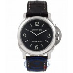 Panerai Luminor Base 44MM Black Dial PAM 112 GTDBT1 - Beverly Hills Watch Company Watch Store