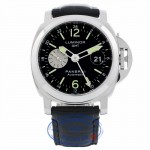 Panerai Luminor GMT 44mm Stainless Steel PAM00088 78H78V - Beverly Hills Watch Company