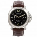 Panerai Luminor Marina 44MM Automatic Stainless Steel Black Dial PAM00164 HIYZYT - Beverly Hills Watch Company Watch Store