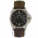 Panerai Luminor Marina Black Dial PAM00590 E7CFZ0 - Beverly Hills Watch