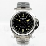 Panerai PAM00297 Luminor GMT 44mm Stainless Steel Beverly Hills Watch Company Watches