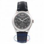 Patek Philippe Annual Calendar 37MM Platinum 5035P-001 16Z16Z - Beverly Hills Watch Company Watch Store