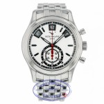 Patek Philippe Annual Calendar Chronograph 40.5mm Stainless Steel Silver Dial 5960/1A-001 D48PXV - Beverly Hills Watch Company