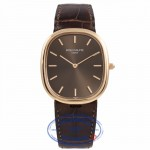 Patek Philippe Ellipse 18K Rose Gold Chocolate Dial 3738/100R-001 Z9YP06 - Beverly Hills Watch Company