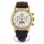 Patek Philippe Perpetual Chronograph Yellow Gold 36mm Case 3670E YA0CEL - Beverly Hills Watch