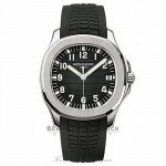 Patek Philippe Aquanaut Automatic Black Dial Stainless Steel 5167A/001 1X3E2H - Beverly Hills Watch
