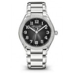 Patek Philippe Ladies Twenty~4 Stainless Steel Gray Sunburst 7300/1200a-001 TW61QK