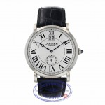 Cartier Rotonde Big Date Collection Privee Mens Watch W1550751 ZC5TZ2