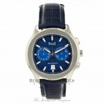 Piaget Polo S Chronograph Stainless Steel Blue Dial G0A43002 9UFU1C