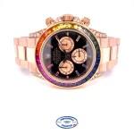 Rolex Daytona Everose Rainbowish Watch 116505 Q4V240 - Beverly Hills Watch Company