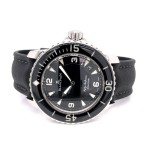 Blancpain Fifty Fathoms 45mm Stainless Steel Black Dial 5015.1130.52A QT9FNE - Beverly Hills Watch Company