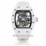 Richard Mille Bubba Watson RM055 All White RM055 Ti-ATZ QZUKZD - Beverly Hills Watch