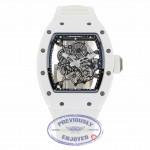Richard Mille Bubba Watson RM055 All White RM055 Ti-ATZ CF1CX0 - Beverly Hills Watch