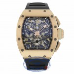 Richard Mille Ivory Felipe Massa 18K Rose Gold RM011 RG/6104 JDJQQP - Beverly Hills Watch