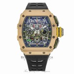 Richard Mille Rose Gold Chronograph Titanium Middle Case RM11-03 RG Ti 3RQXVF - Beverly Hills Watch
