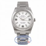 Rolex Air King 34mm Stainless Steel White Dial 114200  TE8VYU - Beverly Hills Watch Company Watch Store