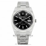 Rolex Datejust II 41mm 18k White Gold Stainless Steel Oyster Bracelet 126334 ZE4YPQ - Beverly Hills Watch