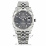 Rolex Datejust 41mm 18k White Gold Stainless Steel  Jubilee Bracelet 126334 PF1MJF - Beverly Hills Watch