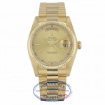 Rolex Day-Date President 18k Yellow Gold 36MM 18038 PDWW8Z - Beverly Hills Watch Company