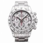 Rolex Cosmograph Daytona Meteorite Roman Dial Oyster Bracelet 18k White Gold 116509 9MRHDC - Beverly Hills Watch Company