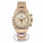 Rolex Daytona Chronograph Everose Gold White Dial 116505 80KR2N