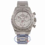 Rolex Daytona 18k White Gold Meteorite Dial on Bracelet 11509 DT5WYF - Beverly Hills Watch Company Watch Store