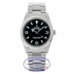 Rolex Explorer 36mm Black Dial Stainless Steel 114270 AU21U1 - Beverly Hills Watch Company