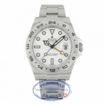 Rolex Explorer II Stainless Steel 42MM White Dial 216570 CE3K8X - Beverly Hills Watch Company