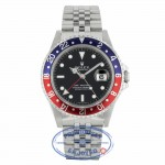 "Rolex GMT Master II 40mm Stainless Steel Blue Red ""PEPSI"" Jubilee Bracelet 16710 92LUX0 - Beverly Hills Watch Company"