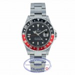 "Rolex GMT Master II Stainless Steel ""COKE"" 16710 50PC4J - Beverly Hills Watch Company"