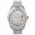 Rolex Datejust II 41mm Stainless Steel 116334 M7ZWP4 - Beverly Hills Watch Company Watch Store