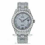 Rolex Pearlmaster 39mm Datejust White Gold Paved Diamonds 86409RBR RD7P29