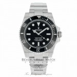Rolex Submariner Stainless Steel No Date Ceramic Bezel 114060 ZWA6AM - Beverly Hills Watch Company