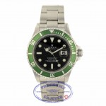 "Rolex Submariner 50th Anniversary Green Bezel ""Kermit"" Black Dial 16610 TUUFJN"