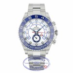 Rolex Yacht-Master II 44MM Stainless Steel Blue Cerachrom 116680 RJXC77 - Beverly Hills Watch Company