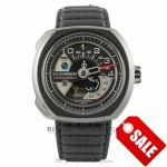 SevenFriday V-Series Speedo 44mm Stainless Steel Gun Metal Case SF-V3/01 TNPFVL - Beverly Hills Watch Company