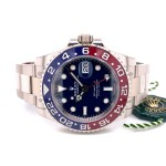 Rolex GMT Master II 40mm Pepsi Blue Dial White Gold 126719BLRO T6RCPZ - Beverly Hills Watch Company