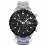 Tag Heuer Carrera Chronograph Black Dial Automatic CV2014.BA0786 9PW57W - Beverly Hills Watch Company Watch Store