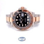 """Rolex GMT Master II """"Root Beer"""" Everose and Stainless 126711CHNR U05HFR"""
