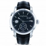 Ulysse Nardin Dual Time Stainless Steel 42mm Watch 3343-126/92 EVKZDQ- Beverly Hills Watch Company