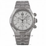 Vacheron Constantin Overseas Chronograph Silver Dial Stainless Steel on Bracelet 49150/B01A-9095-0004 - Beverly Hills Watch Company Watch Store