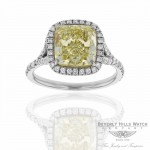Designs by Naira Platinum Diamond Custom Handcrafted Ring VEILB1 VEILB1 - Beverly Hills Jewelry Company