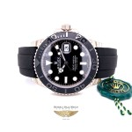 Rolex Yachtmaster 42mm White Gold Cerachrom Bezel 226659 VMFW35 - Beverly Hills Watch Company