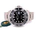 Rolex Sea-Dweller 43mm Ceramic Stainless Steel 126600 WJCH12 - Beverly Hills Watch Company