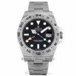 Rolex Explorer II 42MM Stainless Steel Black Dial 216570 Y136D6 - Beverly Hills Watch Company